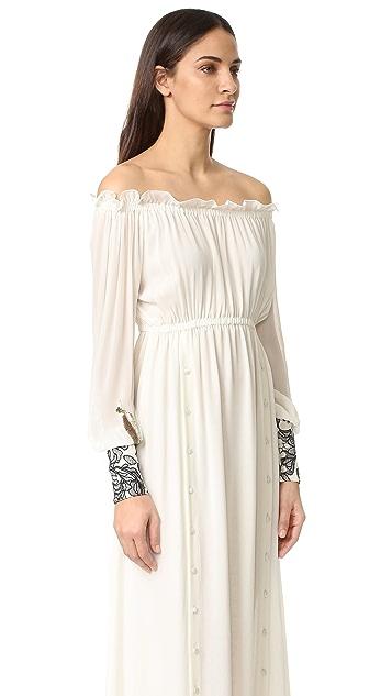 Loyd/Ford Drop Shoulder Maxi Dress