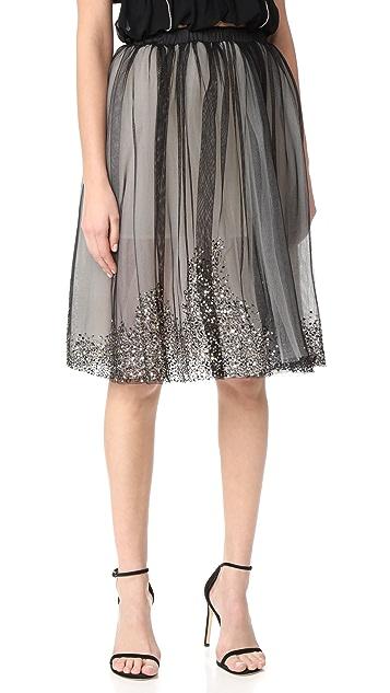 Loyd/Ford Beaded Tulle Skirt