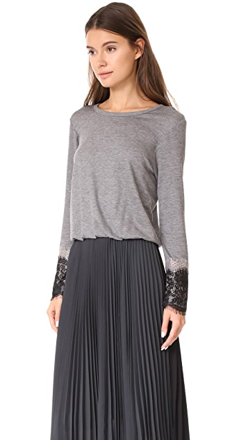 Loyd/Ford Long Sleeve Pleated Dress