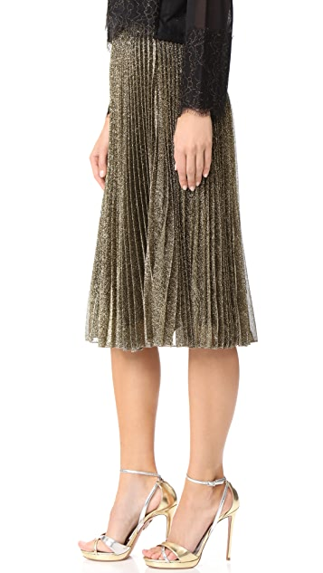 Loyd/Ford Metallic Pleat Skirt