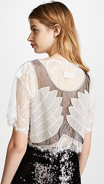 Loyd/Ford Lace Crop Top