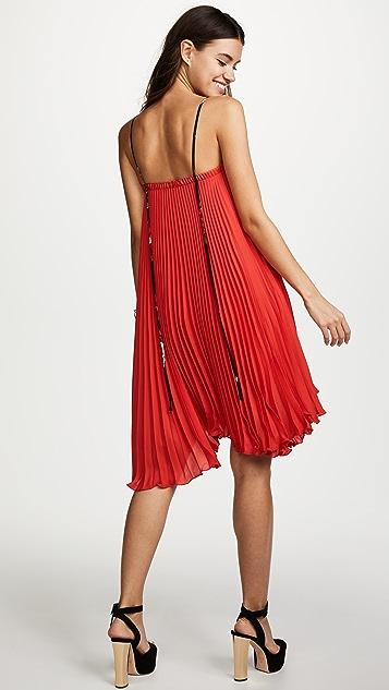 Loyd/Ford Pleated Mini Dress