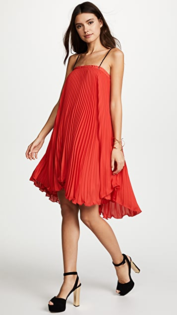 ec4ccbd4ae ... Loyd Ford Pleated Mini Dress ...