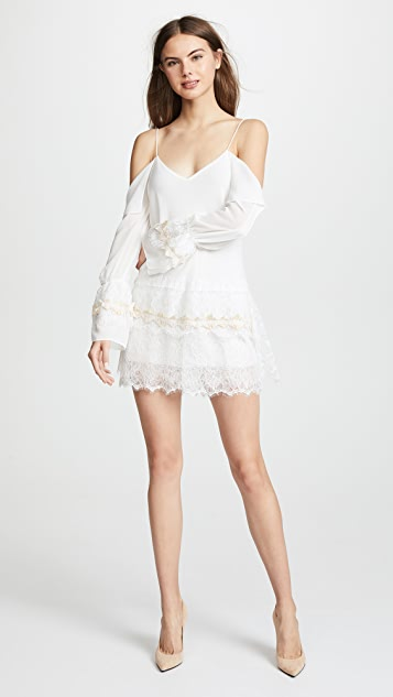 Loyd/Ford Mini Cold Shoulder Dress