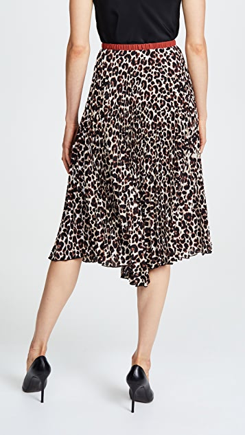 Loyd/Ford Pleated Double Layer Skirt
