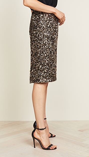 Loyd/Ford Sequin Pencil Skirt