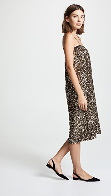 Loyd Ford Sequin Cami Dress