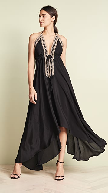 Loyd/Ford Beaded Maxi Dress