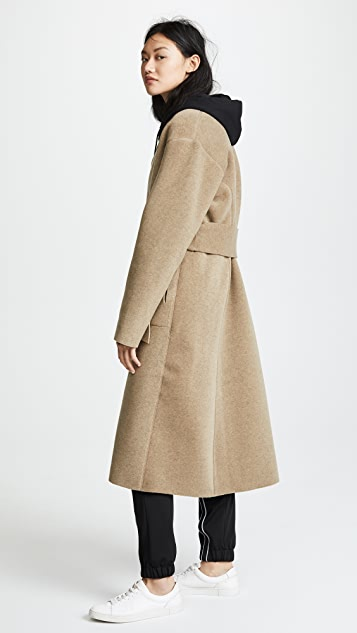 LIVE THE PROCESS Duster Wrap Coat