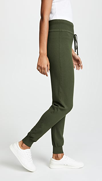 LIVE THE PROCESS Knit High-Waisted Pants