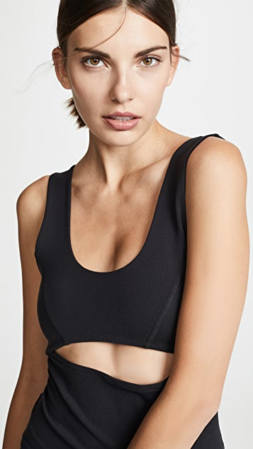 LIVE THE PROCESS Cutout Top
