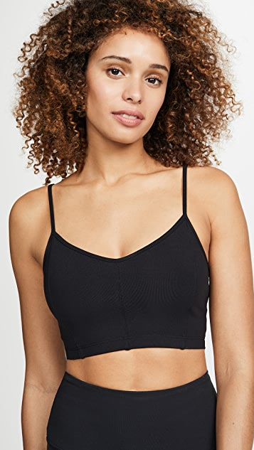 LIVE THE PROCESS Mesh Corset Bra