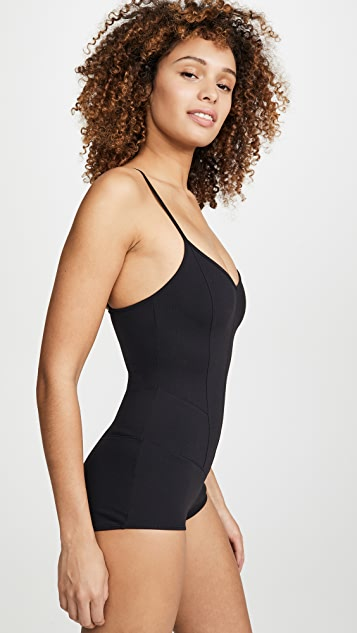 LIVE THE PROCESS Corset Leotard Bodysuit