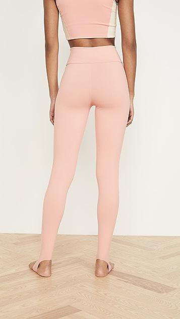 LIVE THE PROCESS Ballet Stirrup Leggings