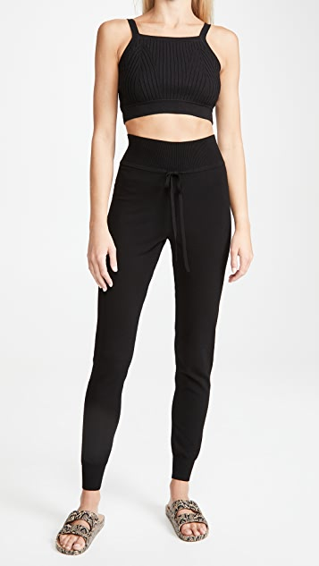 LIVE THE PROCESS Knit High Waisted Pants