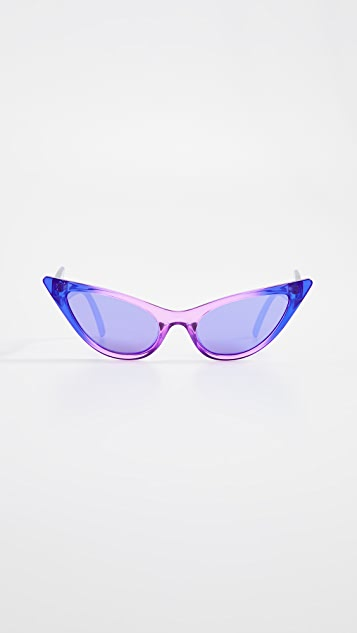 Le Specs x Adam Selman The Prowler Sunglasses