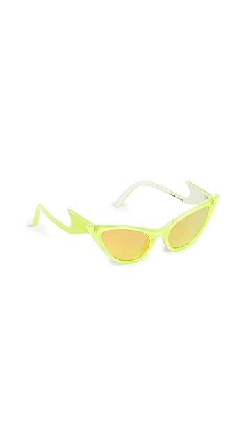 Le Specs x Adam Selman Солнцезащитные очки Prowler