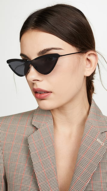 Le Specs x Adam Selman The Scandal Sunglasses