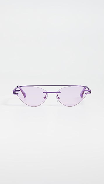 Le Specs x Adam Selman The Coupe Sunglasses