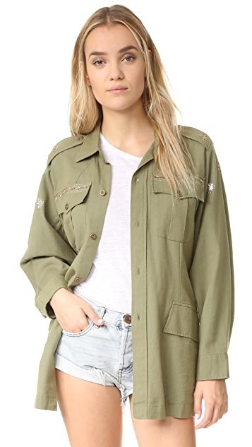 LOVESHACKFANCY Army Jacket