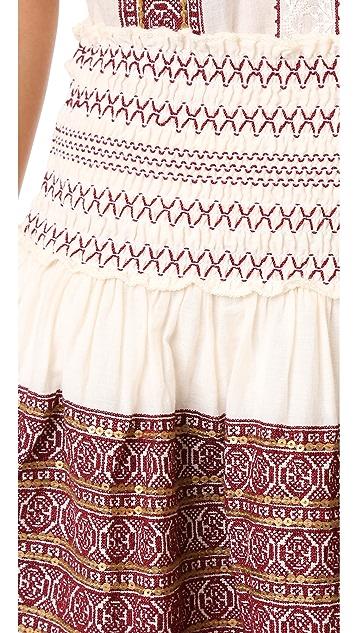 LOVESHACKFANCY Beach Miniskirt