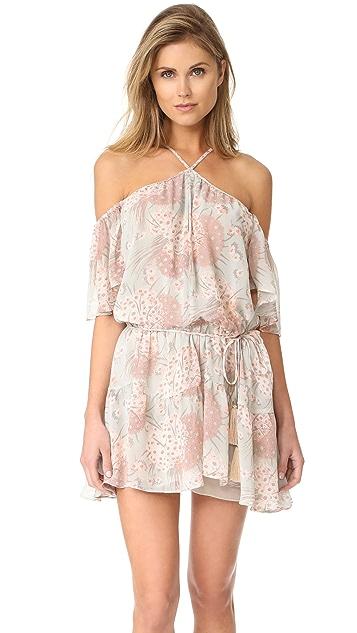 LOVESHACKFANCY Amira Silk Dress