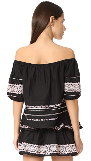 LOVESHACKFANCY Frida Top