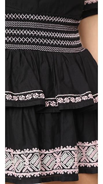 LOVESHACKFANCY Lourdes Skirt