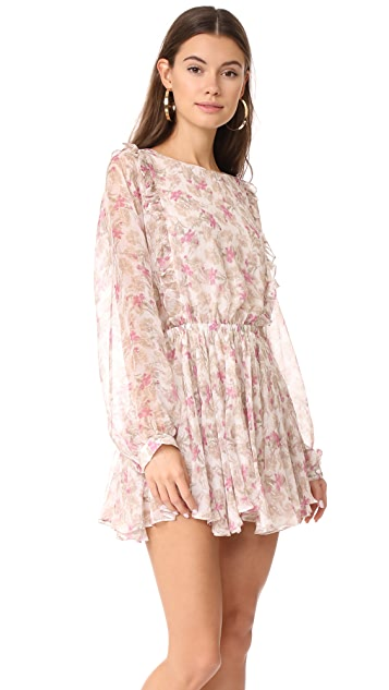 LOVESHACKFANCY Ruffle Noelle Dress
