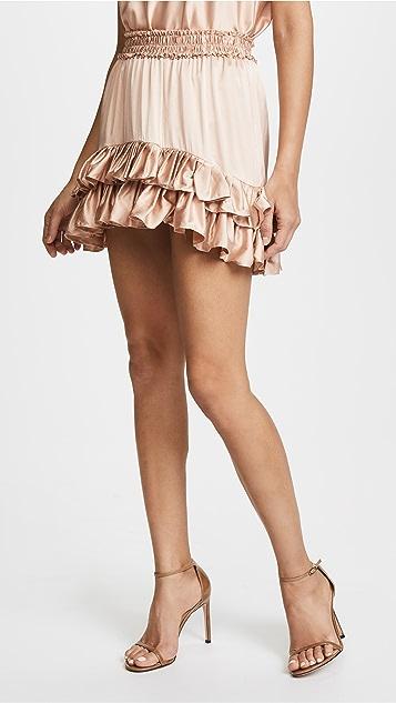 LOVESHACKFANCY Kara Skirt
