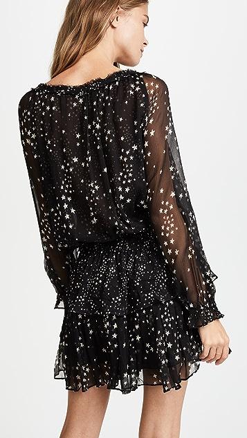LOVESHACKFANCY Night Sky Popover Dress