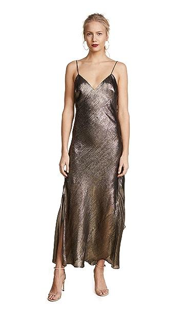 LOVESHACKFANCY Ruffle Slip Dress