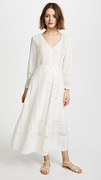 LOVESHACKFANCY Desert Victorian Maxi Dress | SHOPBOP