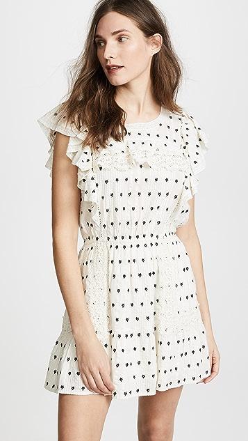LOVESHACKFANCY Whitney Dress - Cream
