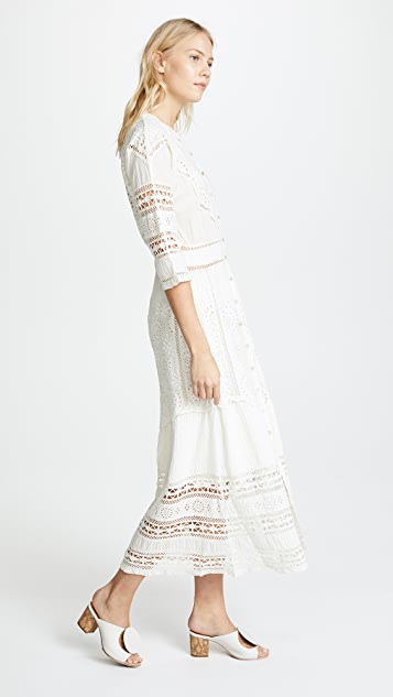 LOVESHACKFANCY Rosalie Dress