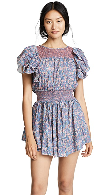 LOVESHACKFANCY Marcella Dress