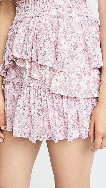LOVESHACKFANCY Genevieve Skirt