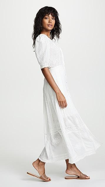 LOVESHACKFANCY Helena Dress