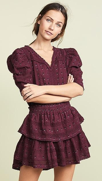 LOVESHACKFANCY Marissa Dress - Spice