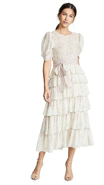 LOVESHACKFANCY Roxanne Dress