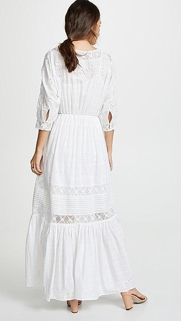 LOVESHACKFANCY Платье Callan