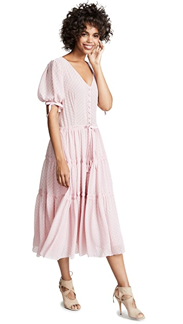 LOVESHACKFANCY Платье Serena