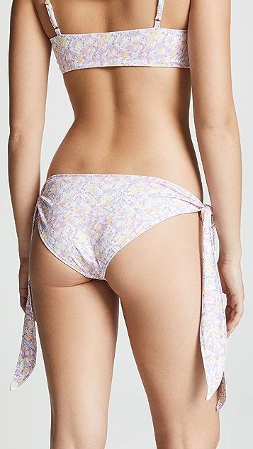 LOVESHACKFANCY Palm Bikini Bottoms