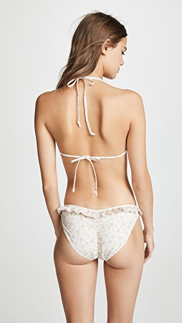LOVESHACKFANCY Riviera Bikini Top