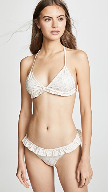 LOVESHACKFANCY Riviera Bikini Bottoms