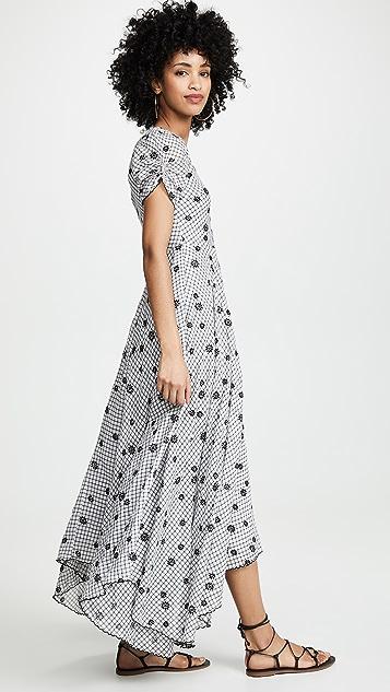 LOVESHACKFANCY Платье Coralie