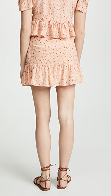 LOVESHACKFANCY Piper Skirt