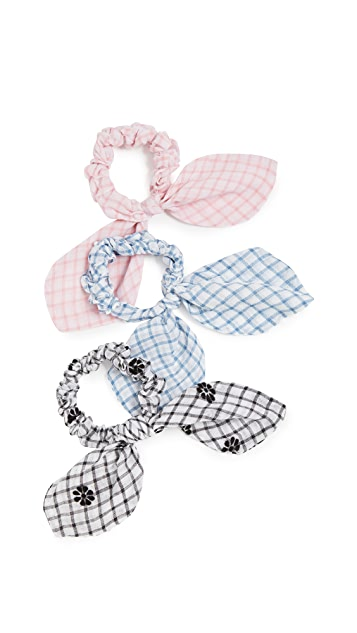 LOVESHACKFANCY Penny Scrunchie Set