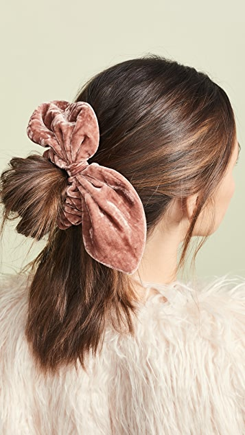 LOVESHACKFANCY Velvet Scrunchie Set