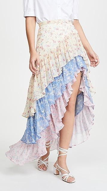LOVESHACKFANCY Lisette Skirt